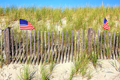 Photograph - Patriotic Cape May Fusion by John Rizzuto