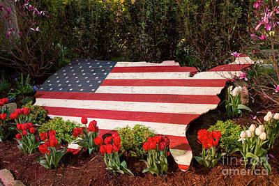 Photograph - Patriotic Landscape by Kevin McCarthy