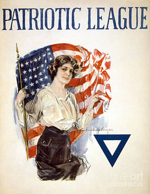 Photograph - Patriotic League, 1918 by Granger