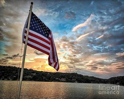 Photograph - Patriotic Solstice by Buddy Morrison