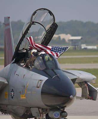 Photograph - Patriotic Tomcat by John Clark