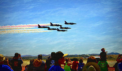 Photograph - Patriots Jet Team by Glenn McCarthy Art and Photography