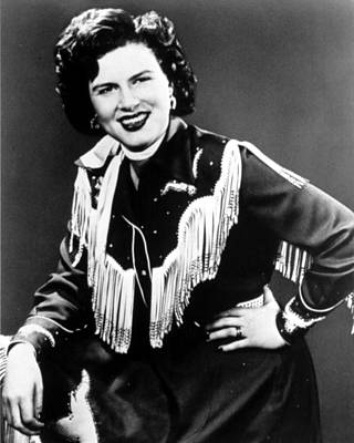 1950s Portraits Photograph - Patsy Cline, C. 1956 by Everett