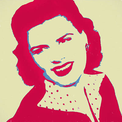 Patsy Cline Pop Art Art Print