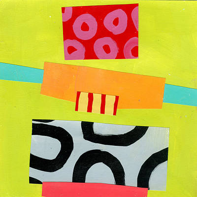 Abstract Pattern Painting - Pattern # 8 by Jane Davies
