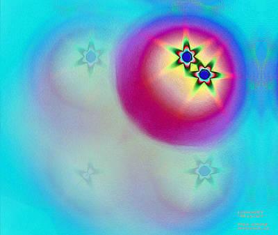 Digital Art - Pattern 333 _ Miracle by Man Chong