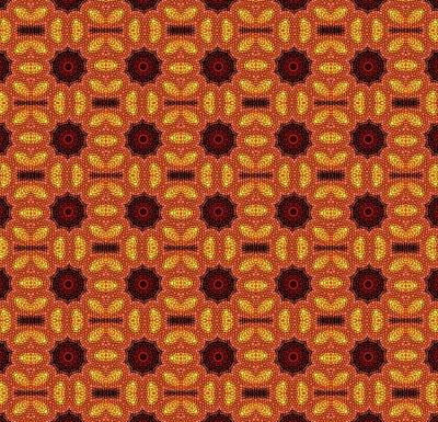Digital Art - Pattern 482904 by Kristalin Davis