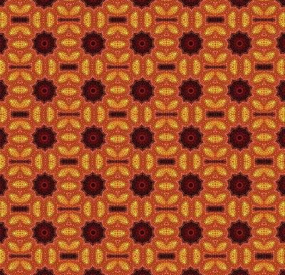Digital Art - Pattern 482904 by Kristalin Davis
