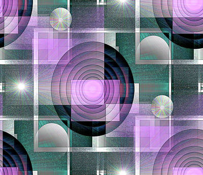 Digital Art - Pattern #7 by Iris Gelbart