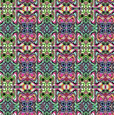 Digital Art - Pattern 8326 by Kristalin Davis