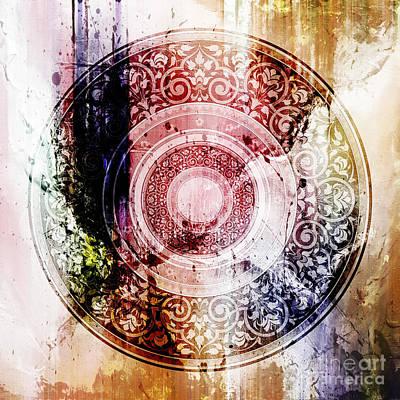 Arabian Painting - Pattern Art 008 by Gull G