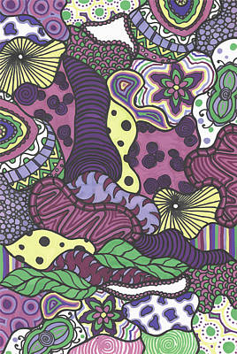 Pattern Jungle Art Print