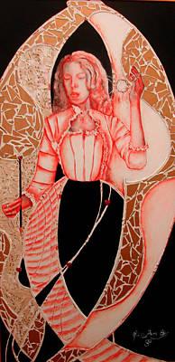 Patterna Rebecca         Art Print by Rebecca Tacosa Gray