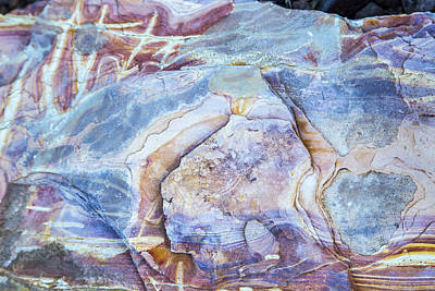 Photograph - Patterns In Rock 2 by Kathy Adams Clark