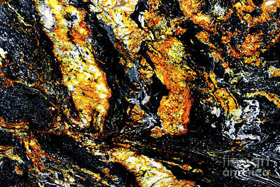 Art Print featuring the photograph Patterns In Stone - 185 by Paul W Faust - Impressions of Light