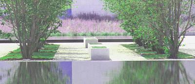Photograph - Patterns Reflected by Ian  MacDonald
