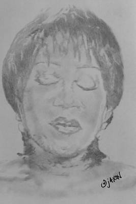 Labelle Drawing - Patti Labelle by B Jaxon