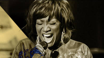 Labelle Mixed Media - Patti Labelle Collection by Marvin Blaine