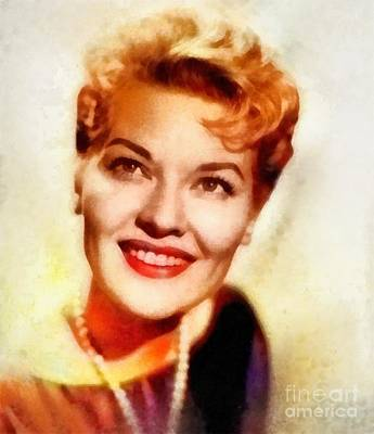 Music Paintings - Patti Page, Vintage Singer by Esoterica Art Agency