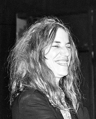 Photograph - Patti Smith 1 by Gary Smith