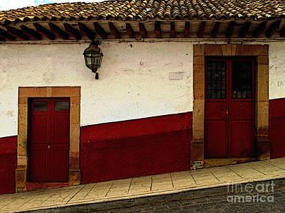 Patzcuaro Photograph - Patzcuaro Streetscape 3 by Mexicolors Art Photography