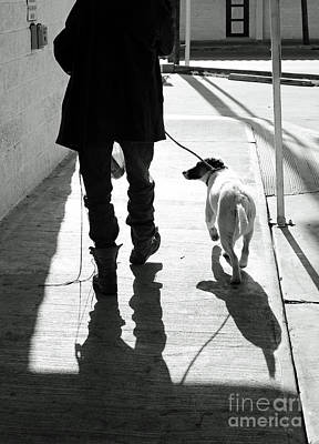 Photograph - Paul And Snowball by Joe Jake Pratt