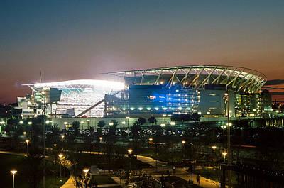Photograph - Paul Brown Stadium by Scott Meyer
