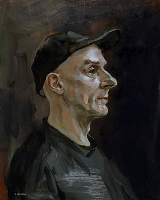 Painting - Paul In Profile by Robert Holden