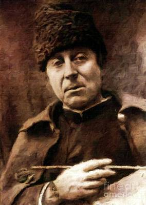 Literature Painting - Paul Gauguin, Artist By Mary Bassett by Mary Bassett