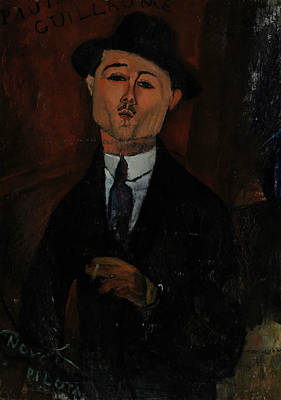 Painting - Paul Guillaume Novo Pilota by Amedeo Modigliani