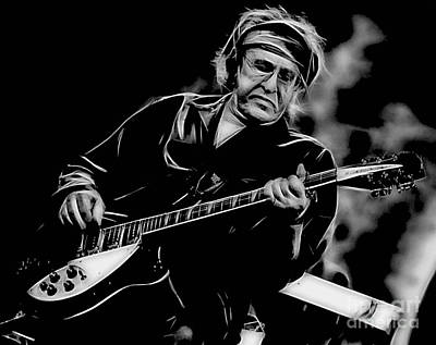 Rock Digital Art - Paul Kantner Jefferson Airplane by Marvin Blaine