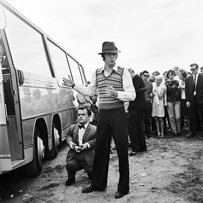Beatles Photograph - Paul Mccartney Beatles Magical Mystery Tour by Chris Walter