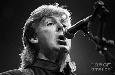 Paul Mccartney Photograph - Paul Mccartney by Concert Photos