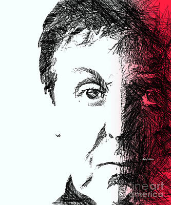 Digital Art - Paul Mccartney by Rafael Salazar