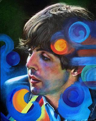 Mixed Media - Paul McCartney by Robert Korhonen