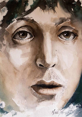 Mccartney Painting - 'paul' by Michael Lang