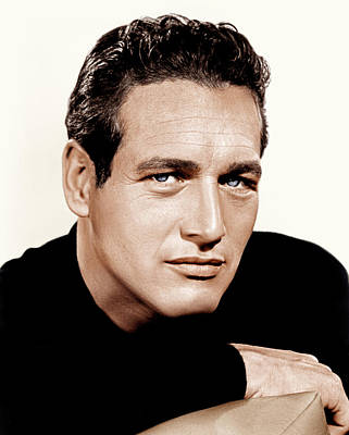 Paul Newman, Ca. 1963 Art Print by Everett