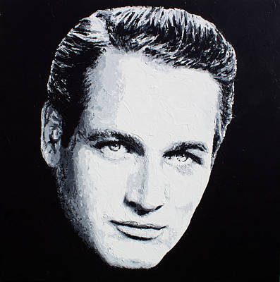Painting - Paul Newman by Havi