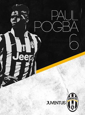 Football Digital Art - Paul Pogba by Semih Yurdabak
