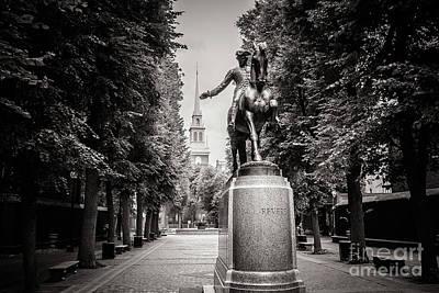 Suggestive Photograph - Paul Rever Monument by Mirko Chianucci