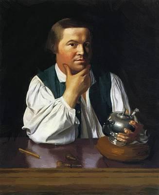 Paul Revere 1770 Art Print