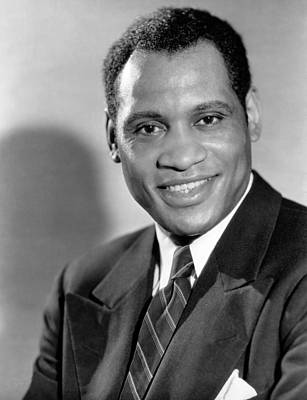 Lapel Photograph - Paul Robeson, Ca. 1930s by Everett
