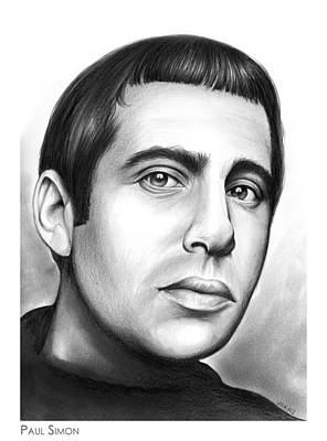 Celebrities Royalty-Free and Rights-Managed Images - Paul Simon by Greg Joens