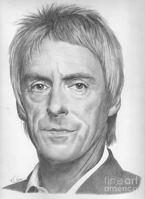 Drawing - Paul Weller by Karen Townsend