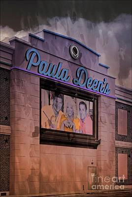 Mixed Media - Paula Deen Myrtle Beach Sc by Bob Pardue