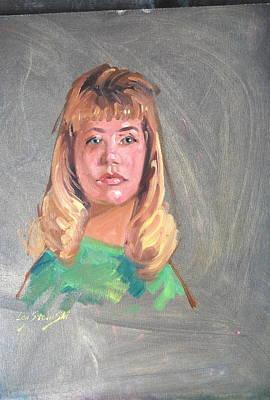 Painting - Paula by Len Stomski