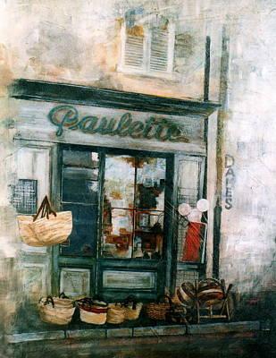 Painting - Paulette by Victoria Heryet