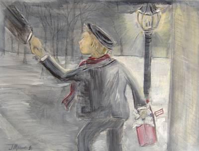 Pauley's Present Art Print by Jessica Mason