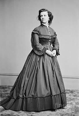 Pauline Cushman (1833-1893) Art Print