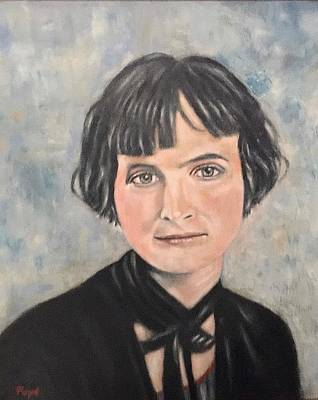 Painting - Pauline Osborn Gaffin by Bruce Ben Pope